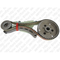 Connect  Кассета цепи ГРМ 1,8 TDCI (75-90-110PS) с 2007г  FORD   1562244 G