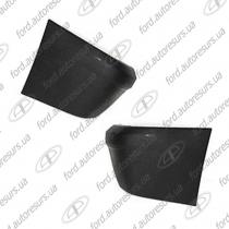 Connect Клык заднего бампера ACAR серый левый (LH) 2T14 17927 AD