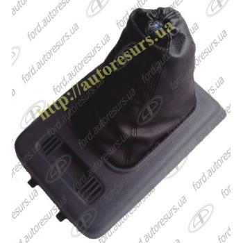 Connect  Чехол ручки КПП с рамкой (серый) FORD   1524539